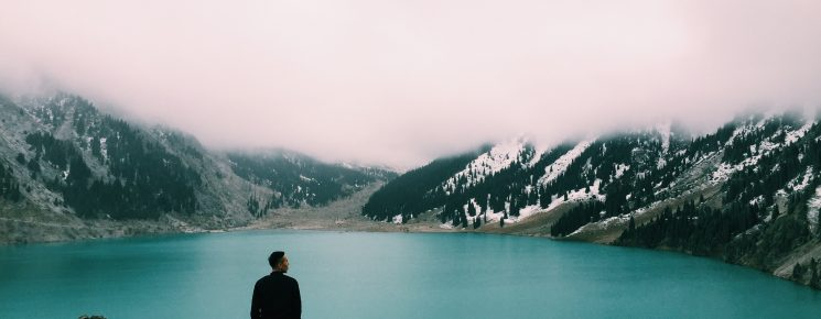 man, nature, viewpoint
