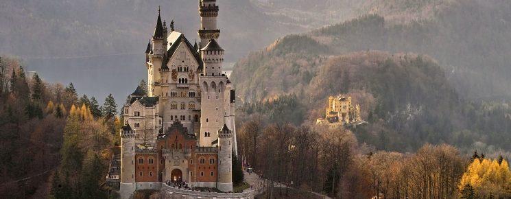 neuschwanstein, castle, germany